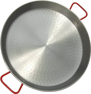 Polished Steel Paella Pan, Myson Products