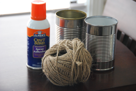 eco friendly twine can craft