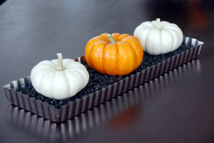 pumpkin table decoration craft