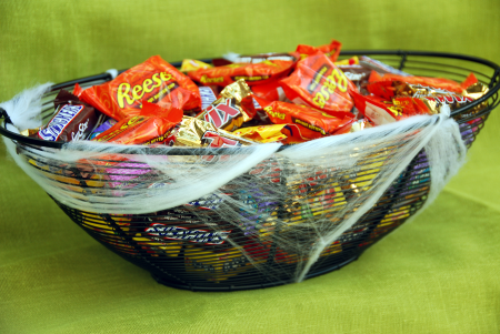 halloween candy bowl craft