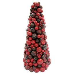 red berry tree tabletop tree topiary craft