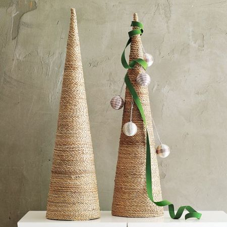 west elm david stark twine wrapped tree craft