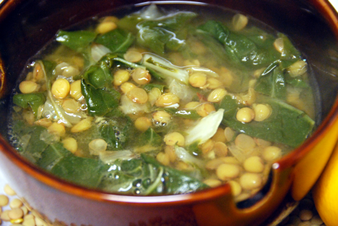 lentil and swiss chard soup recipe food and wine magazine