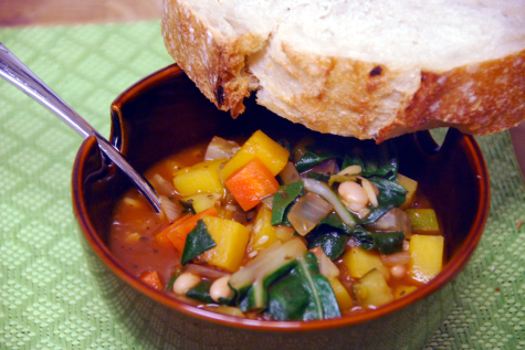 winter minestrone soup recipe cooking light magazine