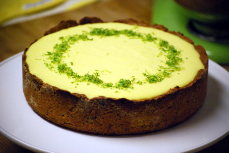 st. patrick's day menu entertaining ideas lime cheesecake dessert