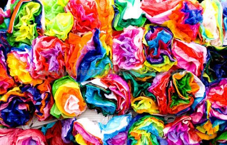 Crepe Paper Flowers The Thrifty Crafter