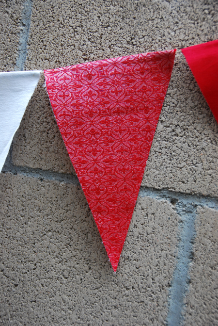 4th of july fabric bunting home decoration entertaining ideas