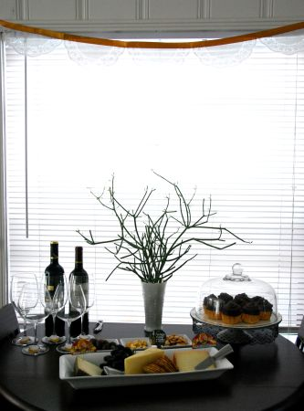 hosting a themed book club entertaining ideas cupcake recipes appetizers wine charms