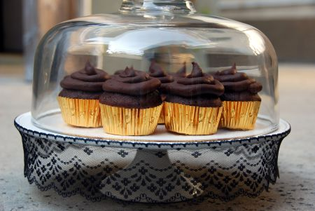 host your own themed book club devils food cupcake recipe entertaining ideas