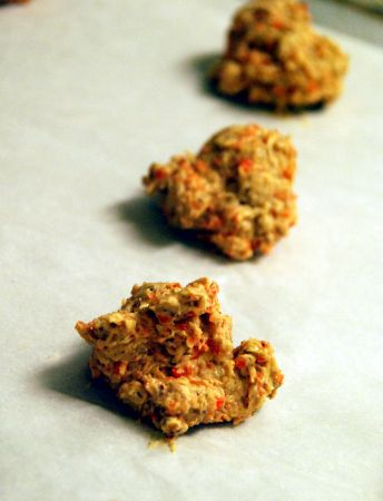 Carrot ginger oatmeal cookie recipe