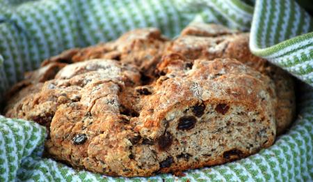 irish soda bread recipe St. Patty's Day menu planning hosting entertaining tips tricks