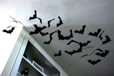 halloween decorating ideas cheap craft diy dollar store bats spooky creepy